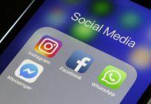 WhatsApp, Facebook e Instagram