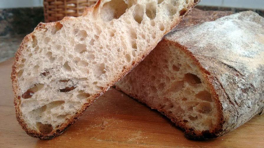 Pão de Forma Com fermento natural