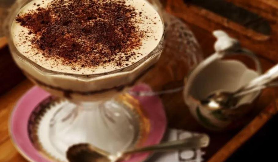 Sobremesa gelada de Ovomaltine