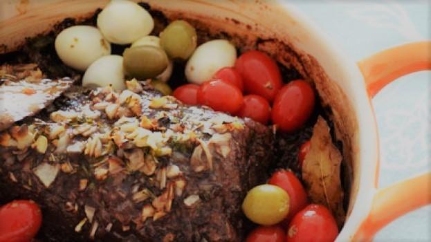 Receita de Carne Assada Básica