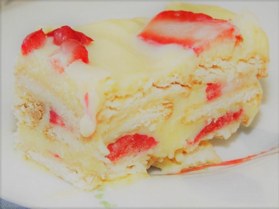 Torta de morango sem forno: como fazer