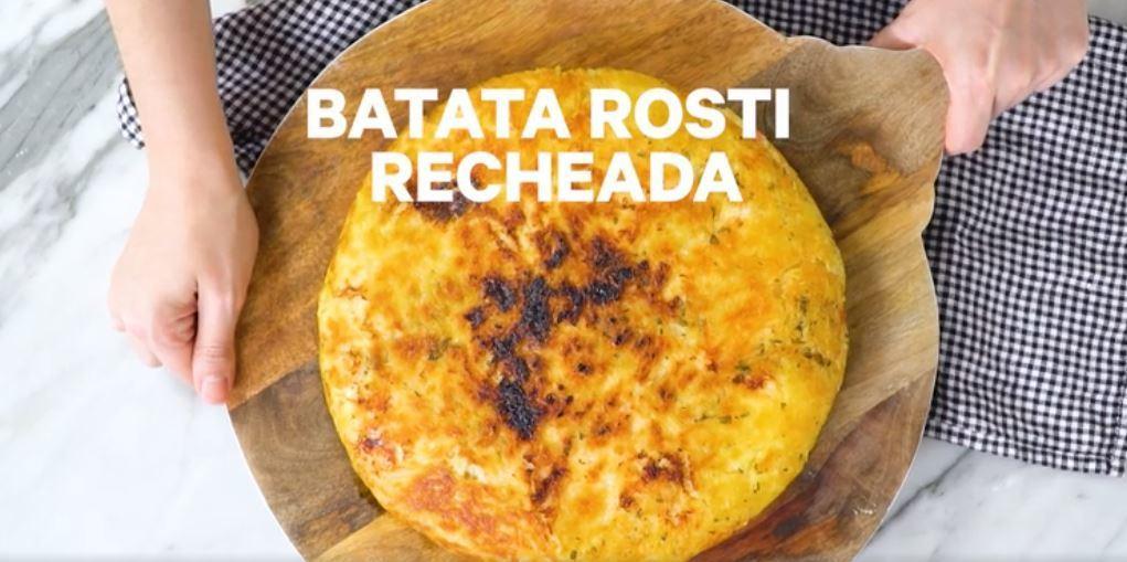 Batata Rosti Recheada