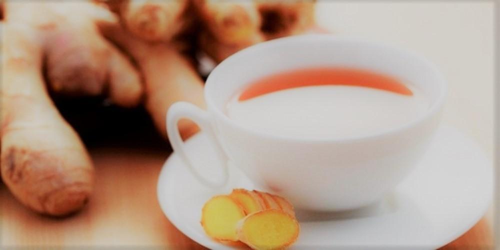 Chá de Gengibre c/ Limão