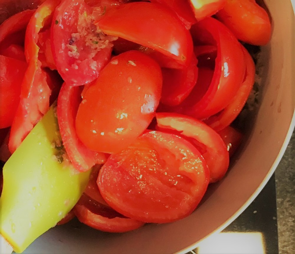 Molho de tomate fresco