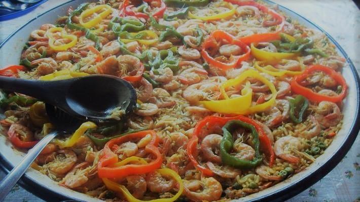 Paella à mineira