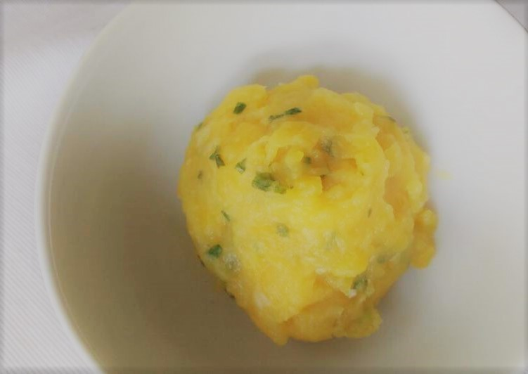 Purê de batata salsa (batata-baroa)