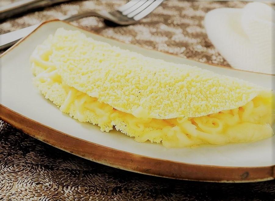 Tapioca com queijo