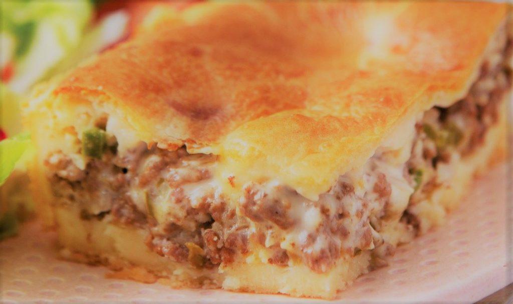 Torta de carne moída fácil