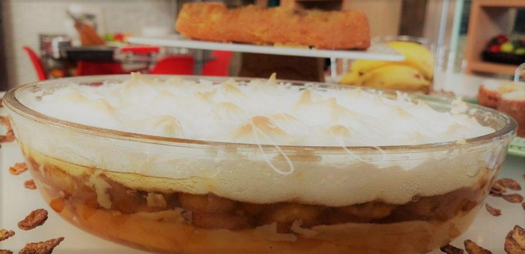 Torta de banana simples