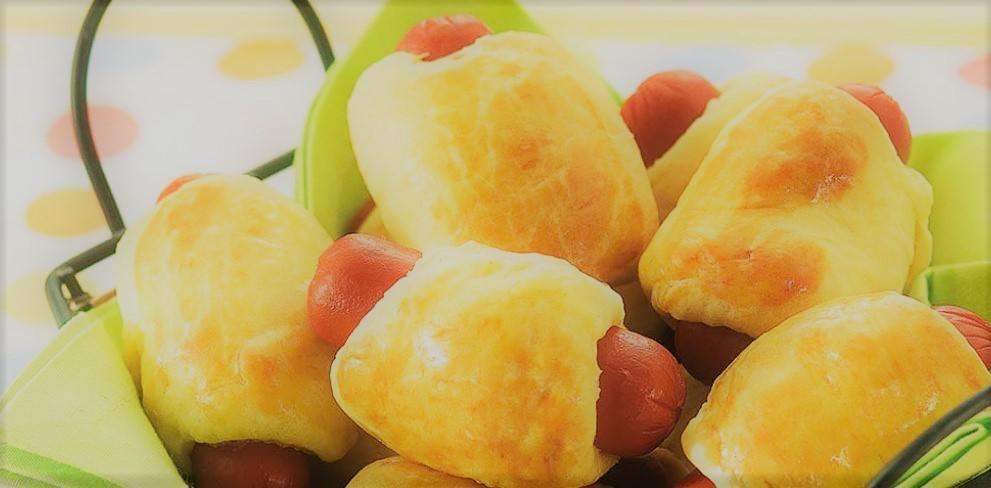 Hot dog no Forno