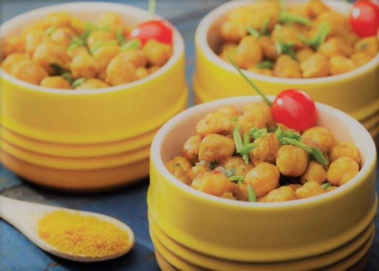 Grão de Bico Ao Curry