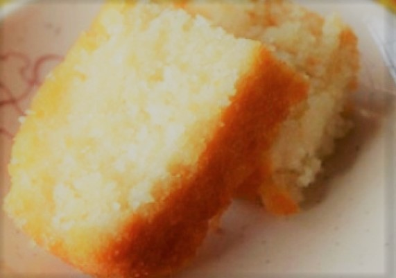 3. Bolo de Arroz Cru (Sem gluten)