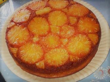 Torta de abacaxi fácil