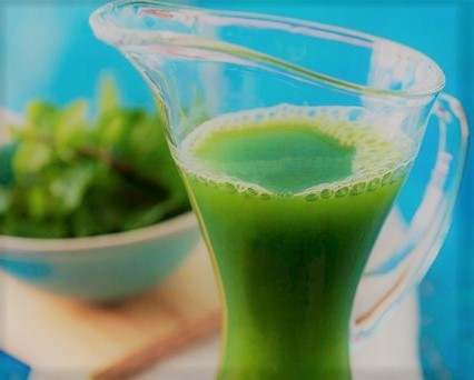 Suco verde e gostoso