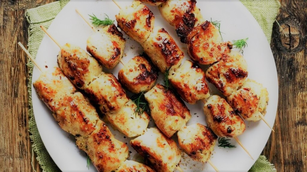Kebab – frango no espeto